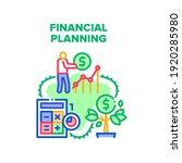 financial planning economy... | Shutterstock .eps vector #1920285980