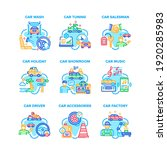 car accessories set icons... | Shutterstock .eps vector #1920285983