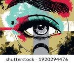 Vector Illustration. Eye....