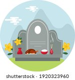 qingming or ching ming festival ...   Shutterstock .eps vector #1920323960