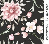 floral seamless pattern with... | Shutterstock .eps vector #1920351266