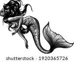 Monochromatic Beautiful Mermaid ...