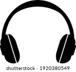 simple headphones icon or... | Shutterstock .eps vector #1920380549
