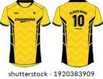 sports jersey t shirt design ...   Shutterstock .eps vector #1920383909
