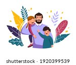 vector illustration  happy... | Shutterstock .eps vector #1920399539