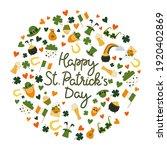 happy st. patrick's day... | Shutterstock .eps vector #1920402869