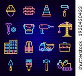building construction neon... | Shutterstock .eps vector #1920430433