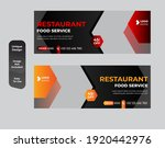 food social media promotion and ... | Shutterstock .eps vector #1920442976