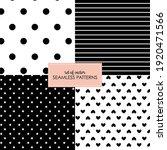 set of four geometric seamless... | Shutterstock .eps vector #1920471566