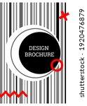 geometric cover design.... | Shutterstock .eps vector #1920476879
