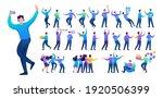 set of a fun teen man.... | Shutterstock .eps vector #1920506399