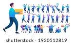set of a fun teen man.... | Shutterstock .eps vector #1920512819