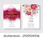 elegant wedding invitation with ...   Shutterstock .eps vector #1920534536