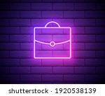 portfolio sketch neon icon....