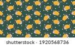 cartoon seamless pattern cute...   Shutterstock .eps vector #1920568736