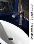 stainless steel water tap in... | Shutterstock . vector #192058610