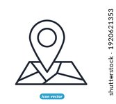 location icon. real estate...   Shutterstock .eps vector #1920621353