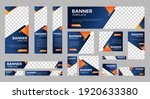 set of creative web banners of... | Shutterstock .eps vector #1920633380