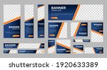 set of creative web banners of... | Shutterstock .eps vector #1920633389