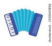accordion musical instrument...   Shutterstock .eps vector #1920643856