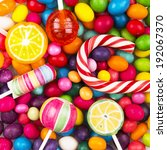 colorful candy | Shutterstock . vector #192067370