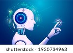concept of machine learning...   Shutterstock .eps vector #1920734963
