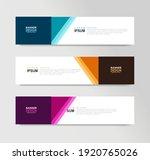 vector abstract banner design... | Shutterstock .eps vector #1920765026