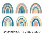 a set of abstract minimalistic... | Shutterstock . vector #1920772370