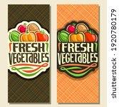 vertical banners for fresh... | Shutterstock . vector #1920780179