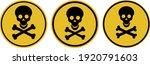 danger attention sign. warning. ... | Shutterstock .eps vector #1920791603
