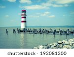 Lighthouse At Lake Neusiedl...