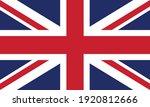 flag of united kingdom   vector ... | Shutterstock .eps vector #1920812666