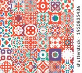 decorative color ceramic...   Shutterstock .eps vector #1920835436