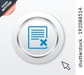 delete file sign icon. remove...