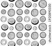 vector seamless pattern with... | Shutterstock .eps vector #1920890330