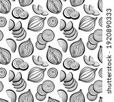 vector seamless pattern with... | Shutterstock .eps vector #1920890333