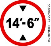 vehicle height restriction not... | Shutterstock .eps vector #1920900920