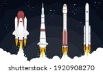 space mission concept. science... | Shutterstock .eps vector #1920908270
