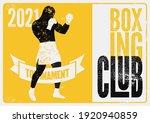 boxing club tournament...   Shutterstock .eps vector #1920940859