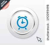 alarm clock sign icon. wake up...