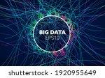 big data vector background....   Shutterstock .eps vector #1920955649