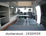 travel van inside | Shutterstock . vector #19209559