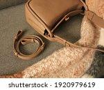 Beige Women's Bag With An...