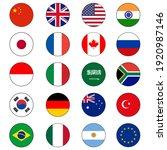 group of twenty  20  or g20... | Shutterstock .eps vector #1920987146