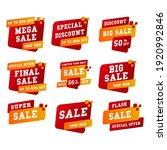 set label sale ad promo ... | Shutterstock .eps vector #1920992846