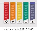infographic templates for... | Shutterstock .eps vector #192102680