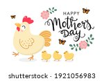 happy mother's day greeting... | Shutterstock .eps vector #1921056983