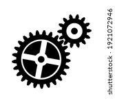 gear icon for graphic design...