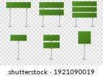vector set of road signs. road...   Shutterstock .eps vector #1921090019