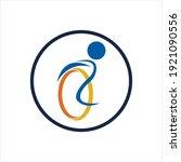 disability logo vector...   Shutterstock .eps vector #1921090556